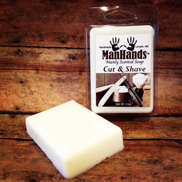 Manly Scented Soap Bars 1
