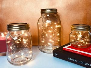 Mason Jar Night Lights 1