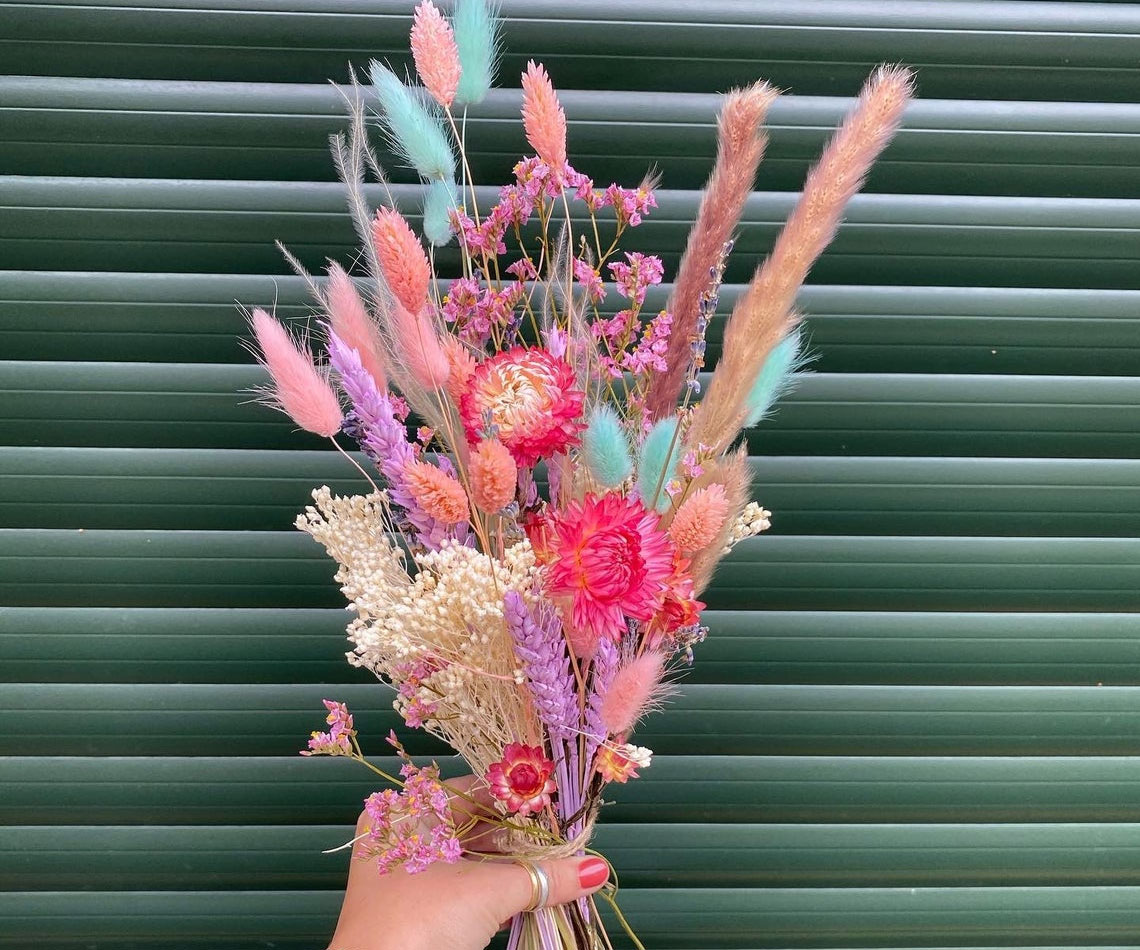 Miami Vice Hand-Tied Dry Flower Bouquet
