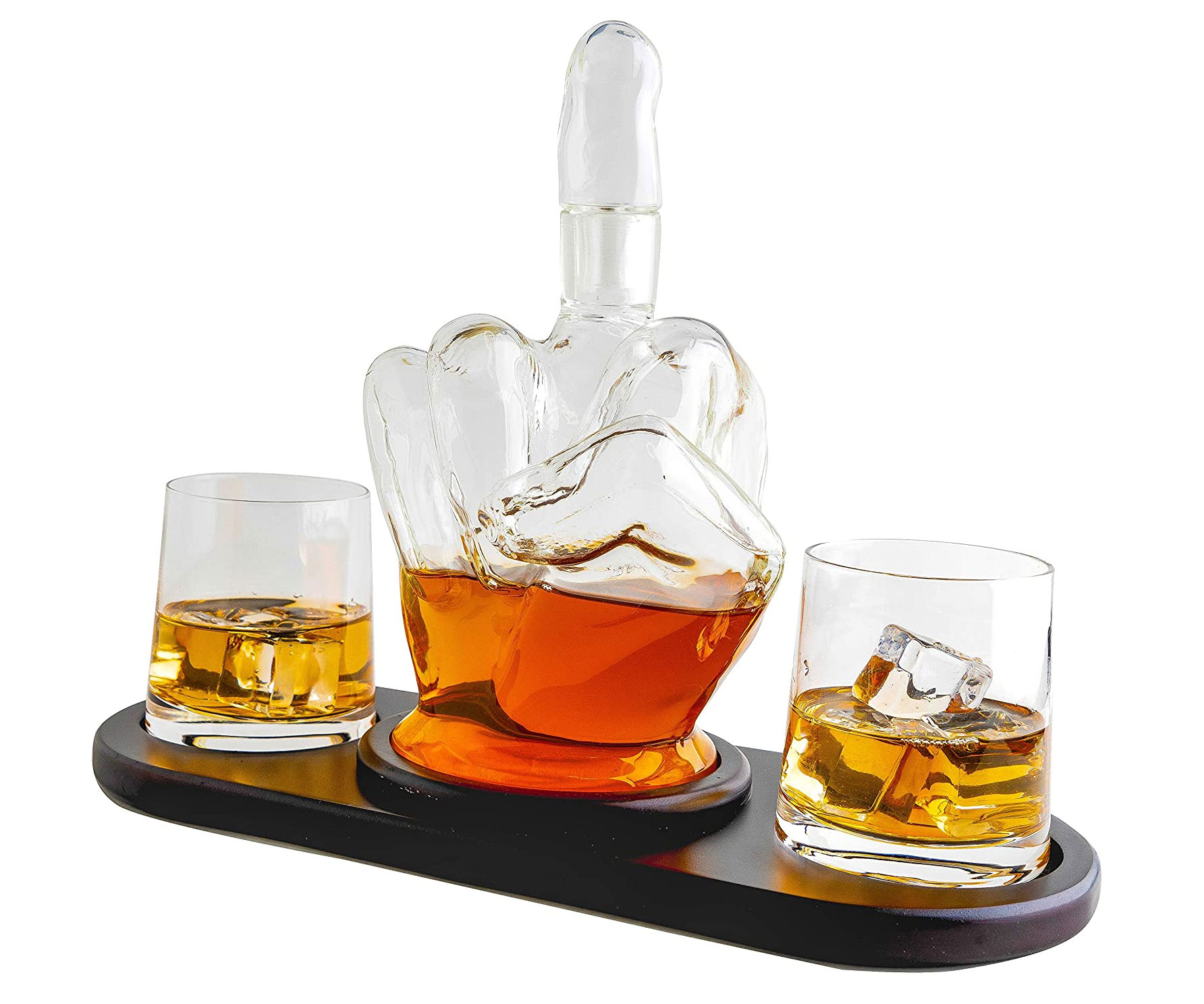 Middle Finger Decanter