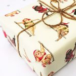 Naughty Pole Dancer Wrapping Paper