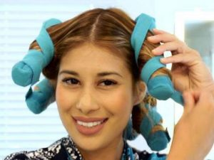 Night Time Heat Free Hair Curlers