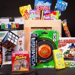 Old School Toys And Candy Crate