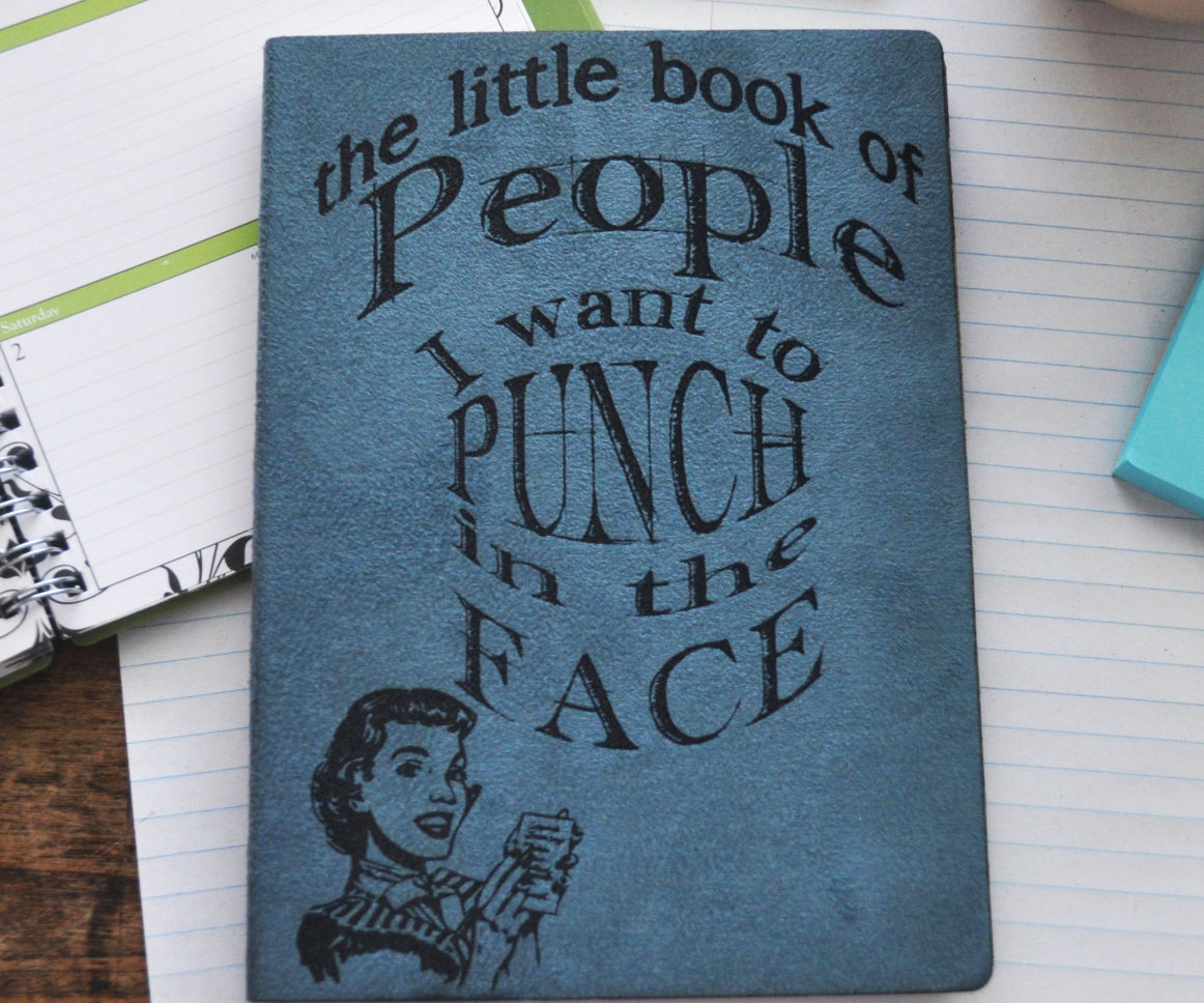 People I Want To Punch Journal 1