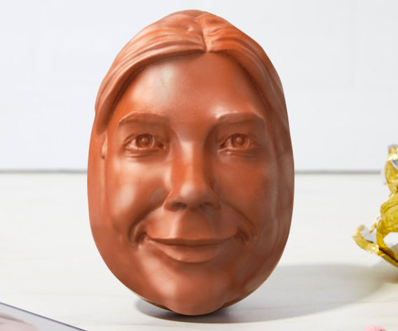 Personalized Chocolate Egg