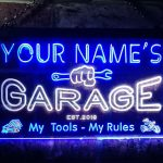 Personalized Garage Neon Sign 1