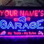 Personalized Garage Neon Sign