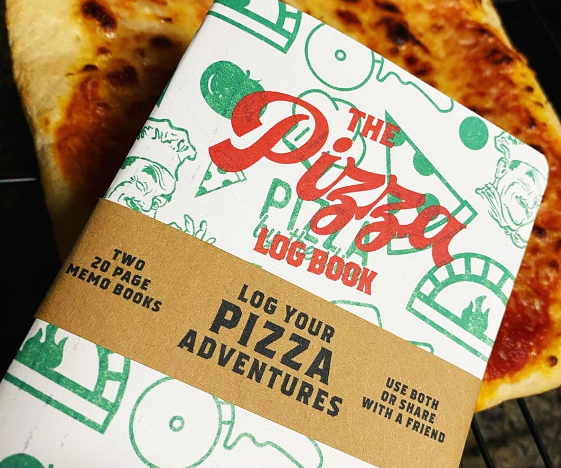 Pizza Review Pocket Journal