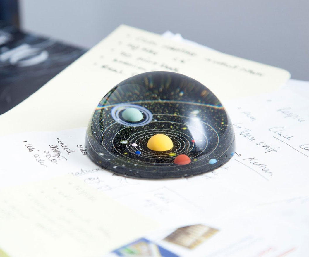 Planetary Paperweight 1