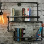 Plumbing Pipes Bookshelf 1