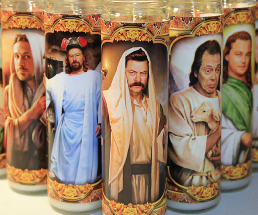 Pop Culture Worship Candles