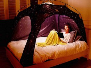 Privacy Starry Bed Tent