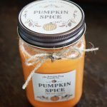 Pumpkin Spice Scented Candle 1