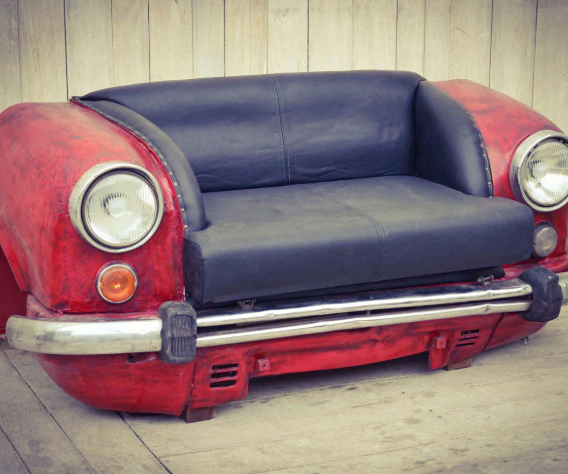 Refurbished Car Couches 2