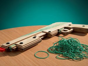 Rubber Band Shotgun 1
