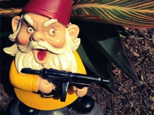 Scarface Lawn Gnome 1