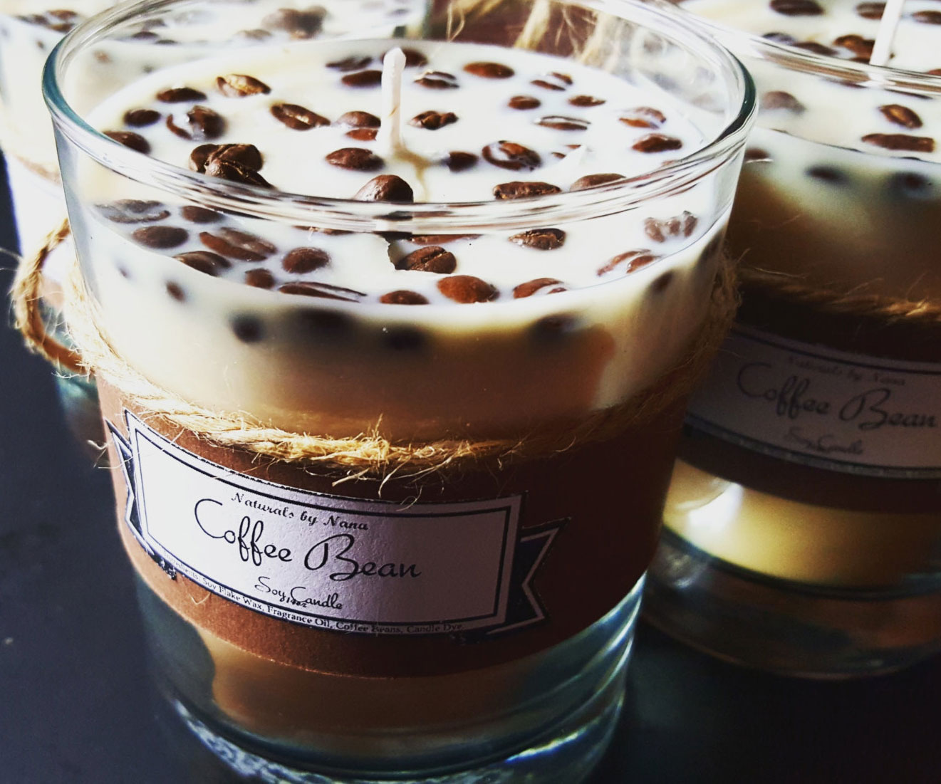 Scented Coffee Beans Candle