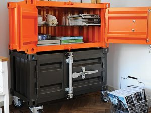 Shipping Container Cabinets