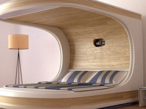 Smart Self Contained Bedroom Bed 1