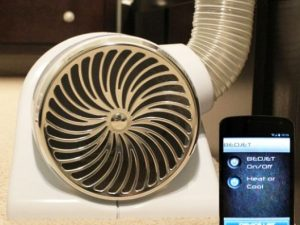 Smartphone Controlled Bed Fan