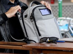 Solar Powered Anti-Theft Backpack