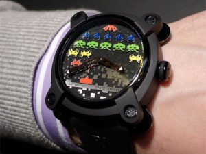 Space Invaders Wrist Watch 1