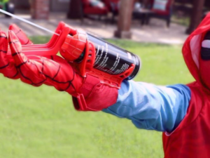 Spider-Man Silly String Web Shooter
