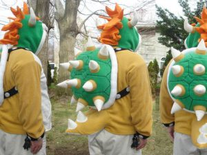 Spikey Bowser Hoodie 1