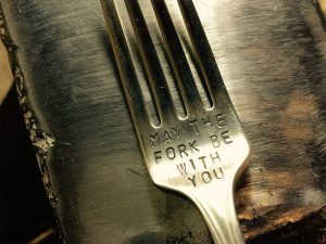 Star Wars Themed Quote Fork