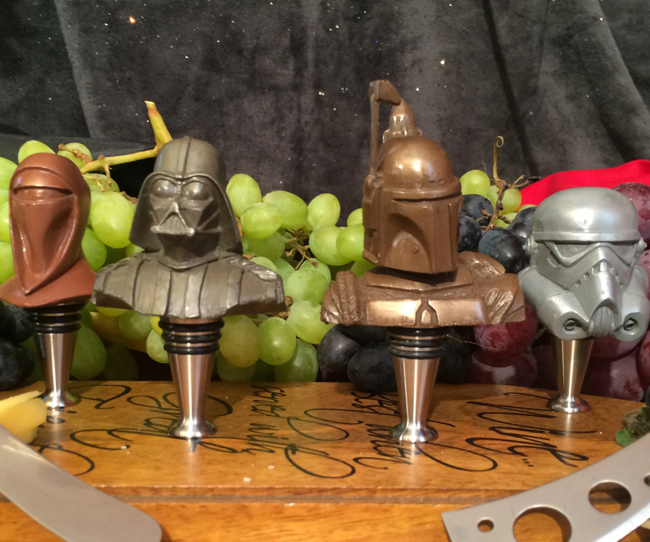 Star Wars Wine Stoppers 2