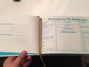 The Bathroom Guest Book 1