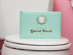 The Bathroom Guest Book