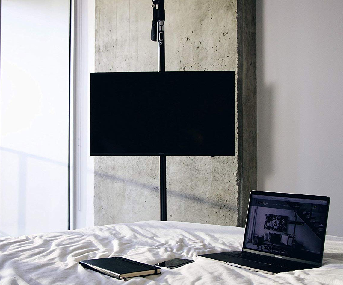 The Height Adjustable Tv Pole Mount 1