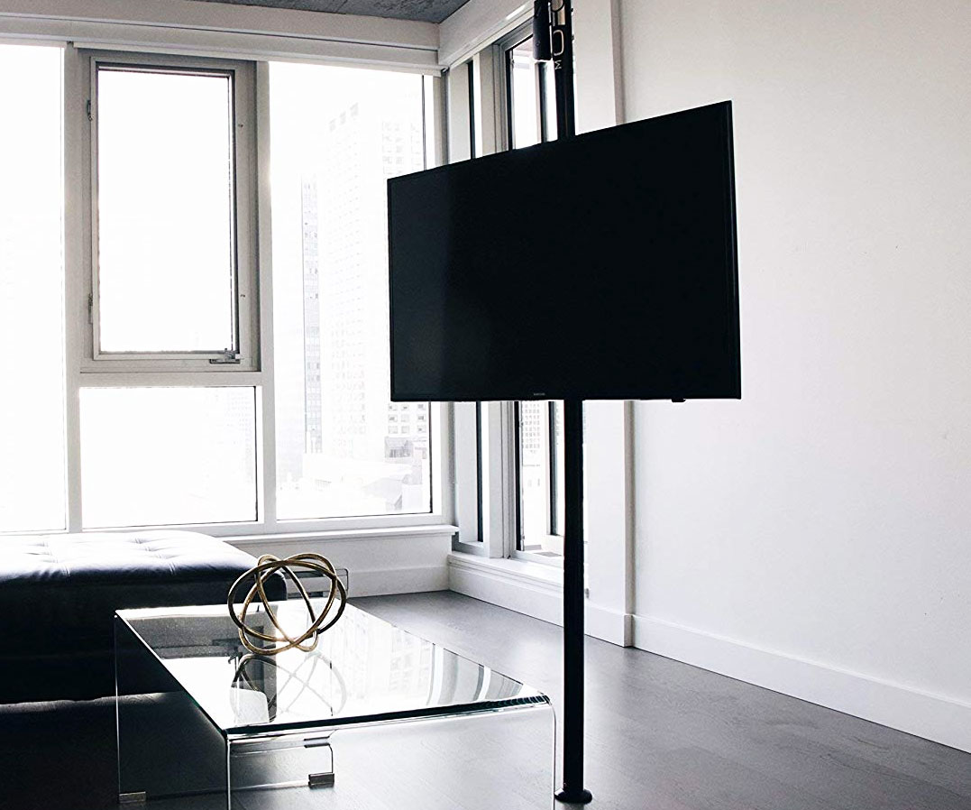The Height Adjustable TV Pole Mount