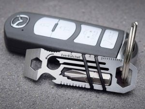 The Ratcheting Keychain Multi-Tool