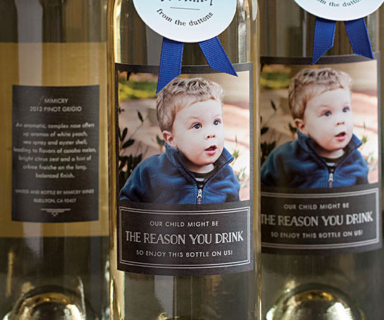 The Reason You Drink Wine Label 1