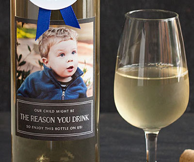 The Reason You Drink Wine Label