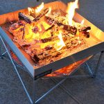 The Ultra Portable Pop Up Fire Pit 1