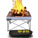 The Ultra Portable Pop-Up Fire Pit