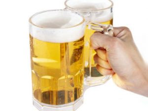 Two-Fisted Double Beer Mug