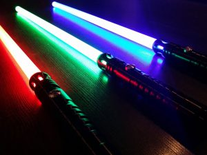 Ultra Realistic Dueling Lightsabers 1