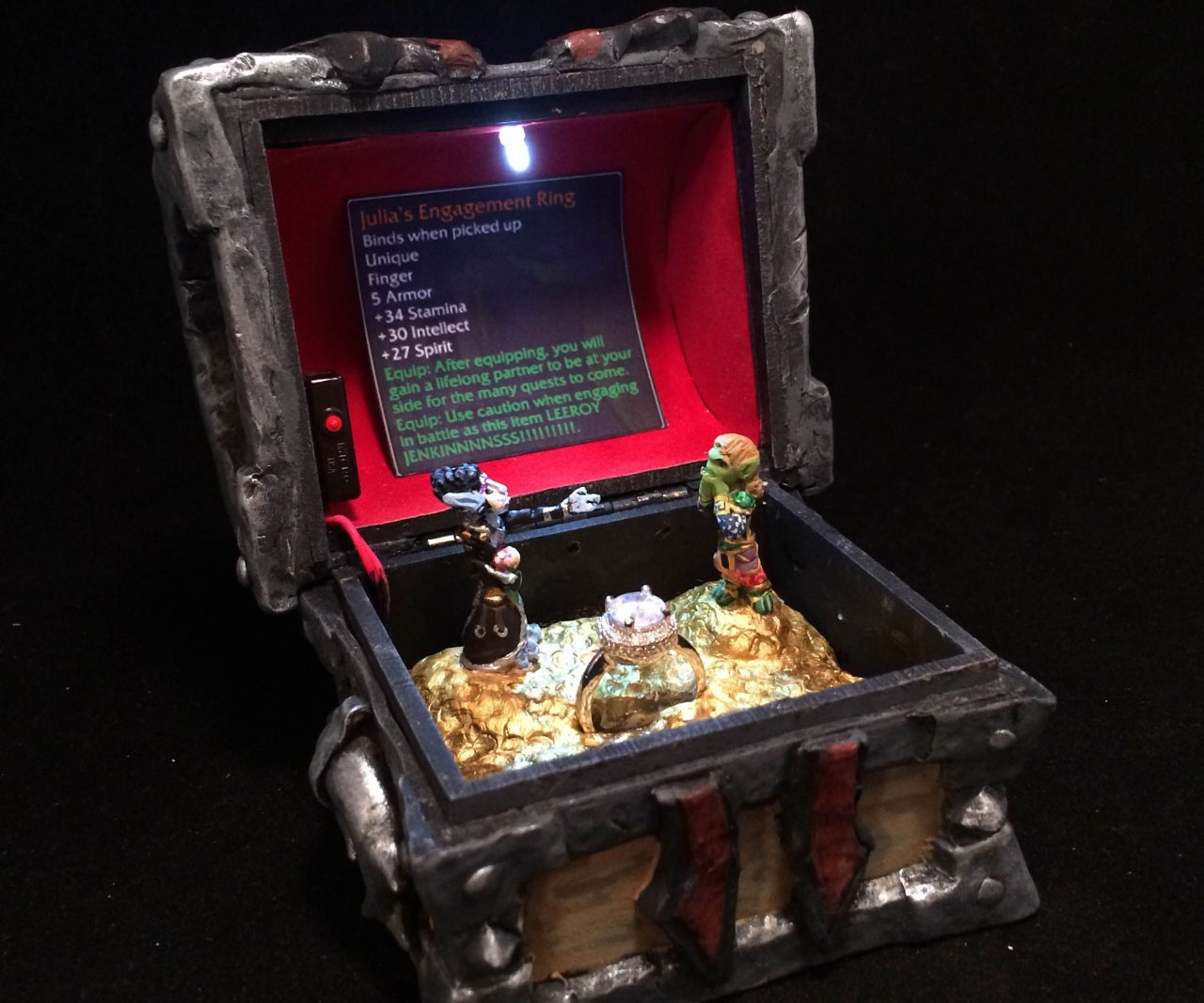 World Of Warcraft Horde Armory Chest 1